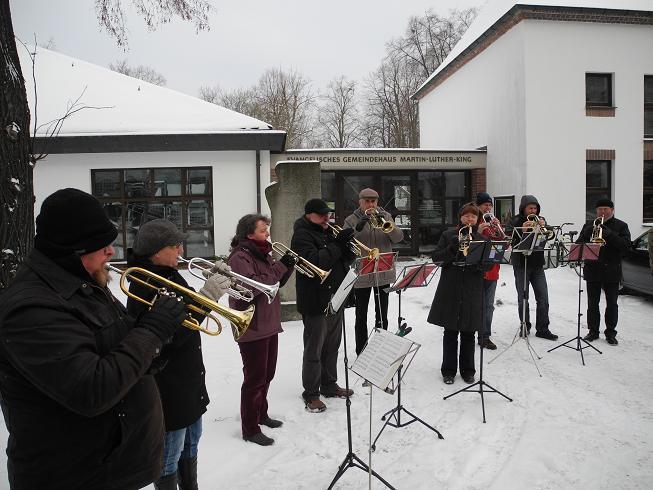 Chorleiterversammlung am 25.01.2014 in Hoyerswerda/ Martin-Luther-King-Haus