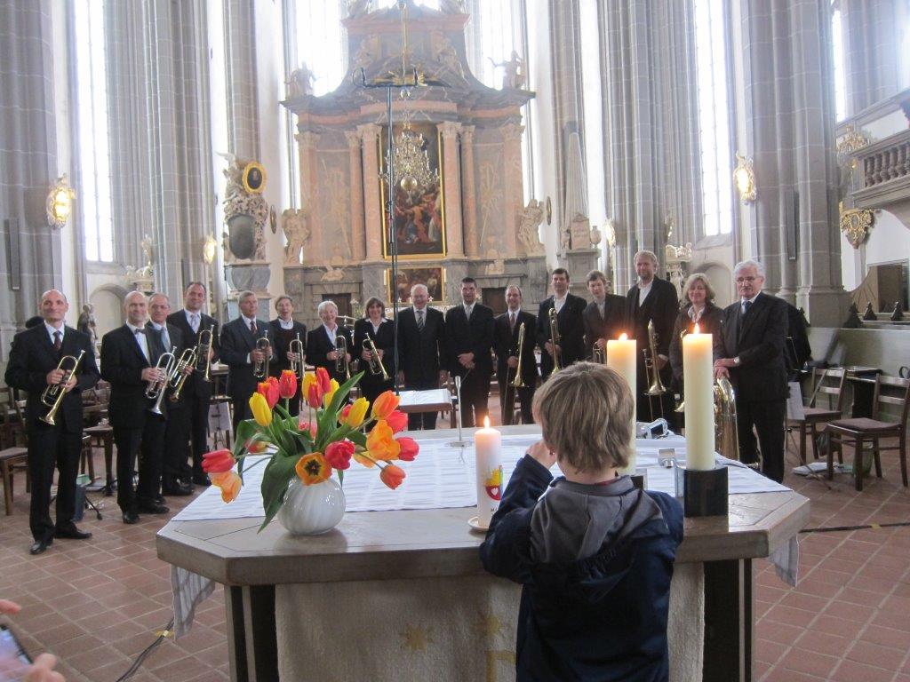 Der Posaunenchor Görlitz Stadtmission feierte am 26. April 2015 seinen 110. Geburtstag. Festgottesdienst um 10 Uhr in der Peterskirche Görlitz.
